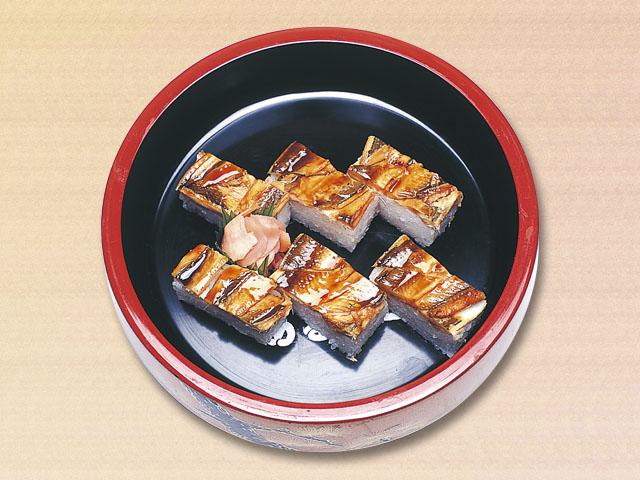 穴子の押し寿司
